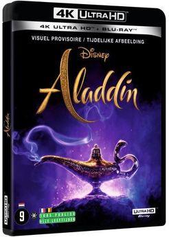 Aladdin Live Action - Combo 4K UHD + Blu-Ray