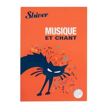 Cahier de Musique et de Chant - Shiver A4 48 pages