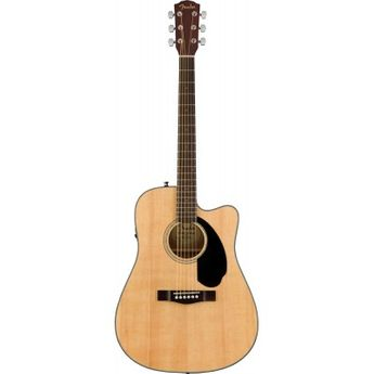 Fender CD-60SCE Dreadnought Acoustic-Electric Guitar - Natural