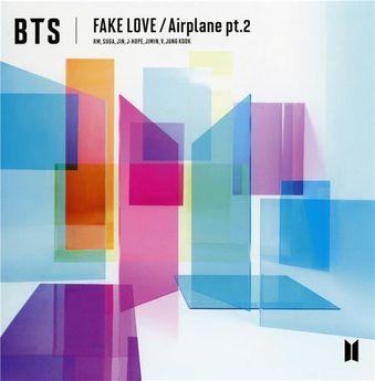 BTS - Fake Love Airplane - CD