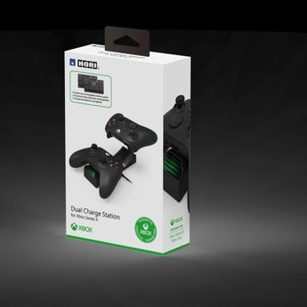 HORI - Dual Charging Station for Xbox Series X / S & Xbox One