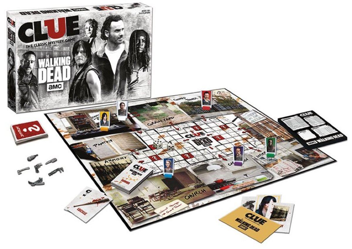 Cluedo Walking Dead - série télé