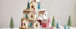 DIY - Calendrier de l'Avent village de Noël