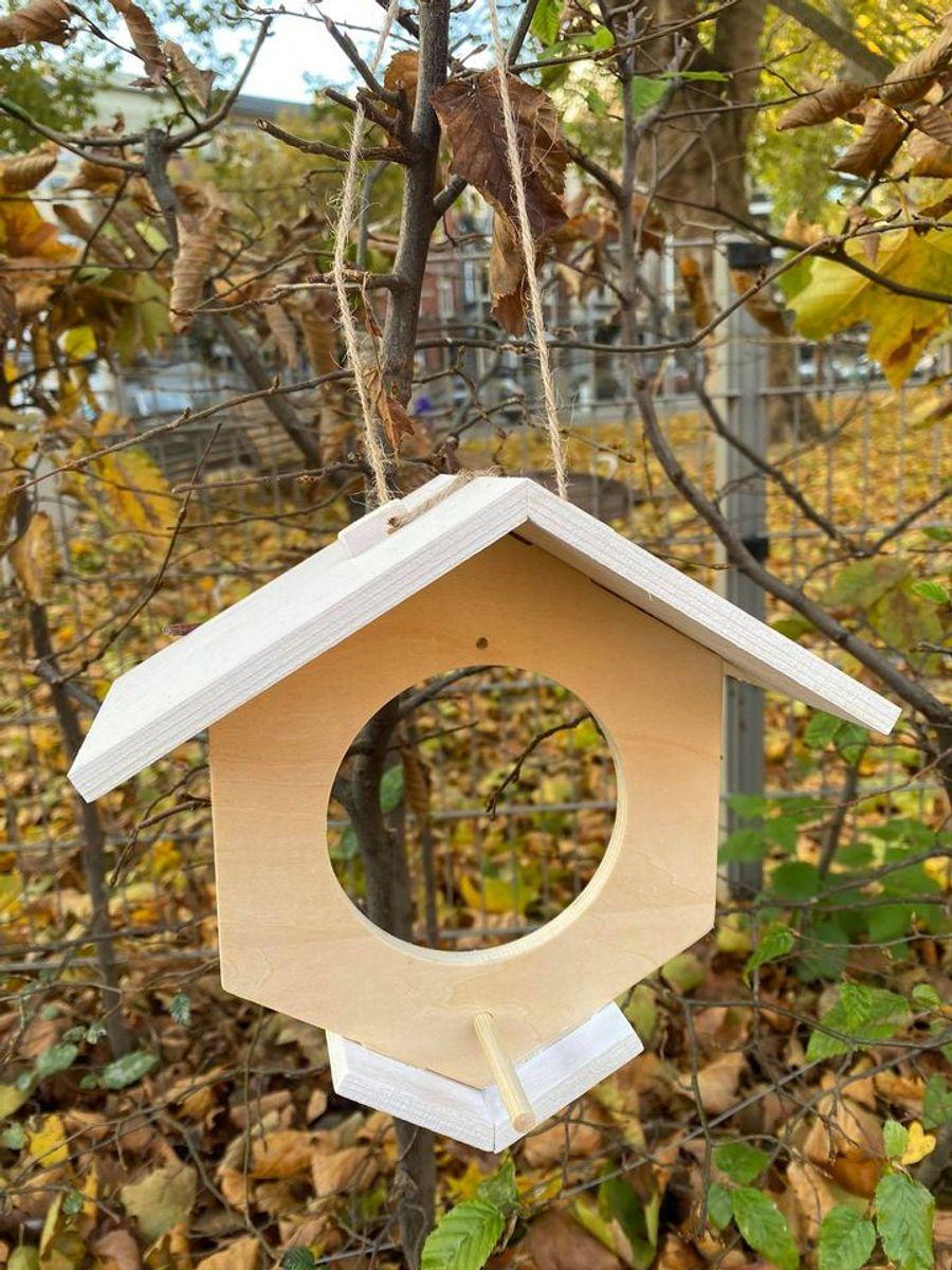 DIY - Mangeoire à oiseaux