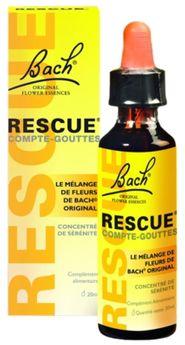 Fleur Bach Rescue gouttes 10ml