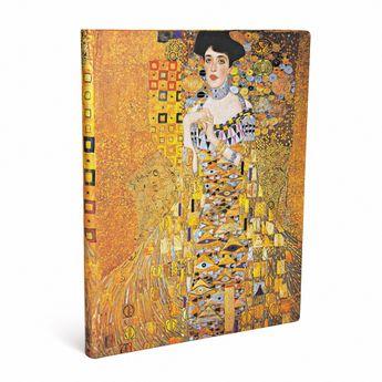 100ème Anniversaire de la Mort de Klimt –Portrait d'Adèle - feuilles blanches