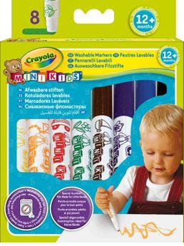 8 feutres a colorier