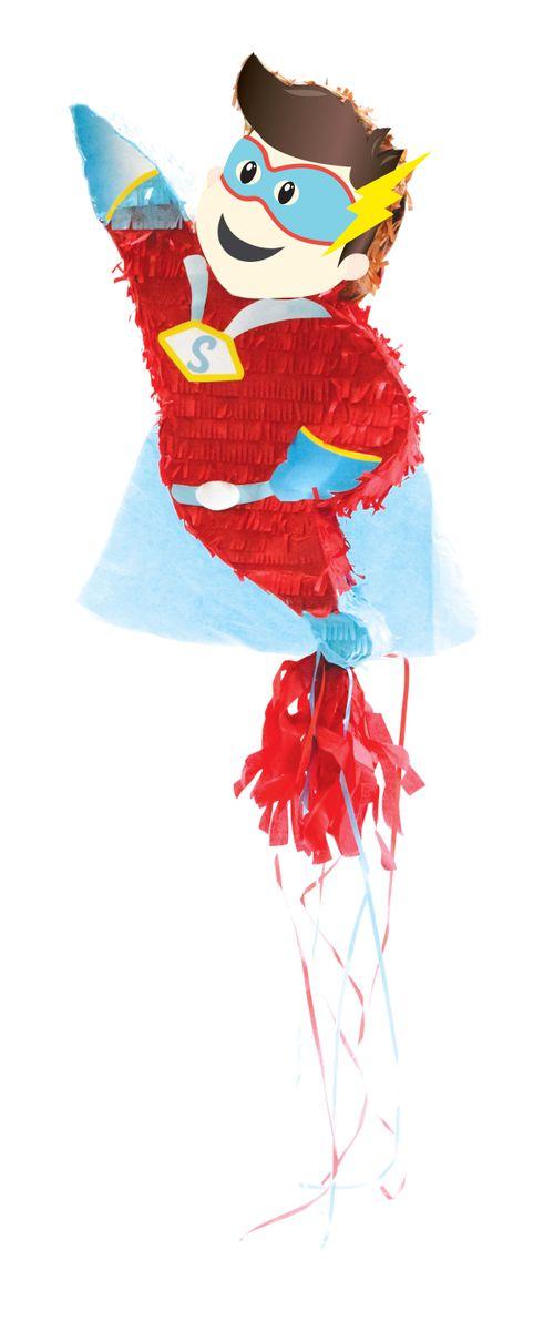 "Piñata ""Super Héros"""