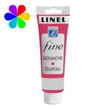 Gouache Linel 120ml rouge primaire