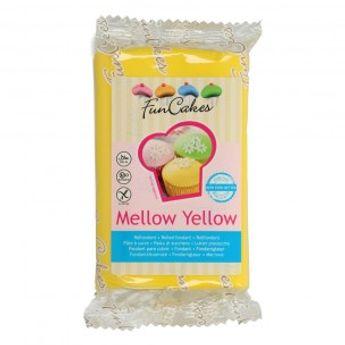 Pâte à sucre  - jaune - 250g