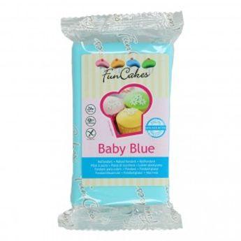 Pâte à sucre  - bleu ciel - 250g