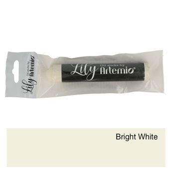 Lily oil paint crayon 17x100mm bright white