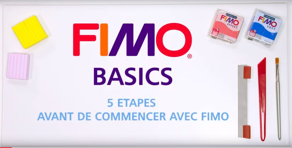 FIMO - 5 étapes avant de commencer à travailler avec FIMO