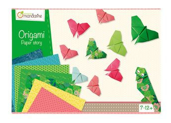 Boîte créative, Origami