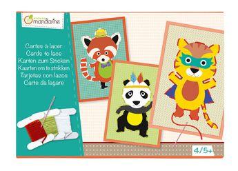Boîte créative, Cartes à lacer