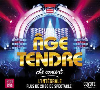 Age Tendre - Concert Des 10 Ans - CD