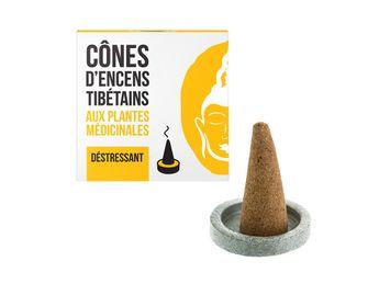 Cônes tibétains déstressant